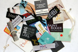 custom woven clothing garment labels printed ribbons With clothing labels australia